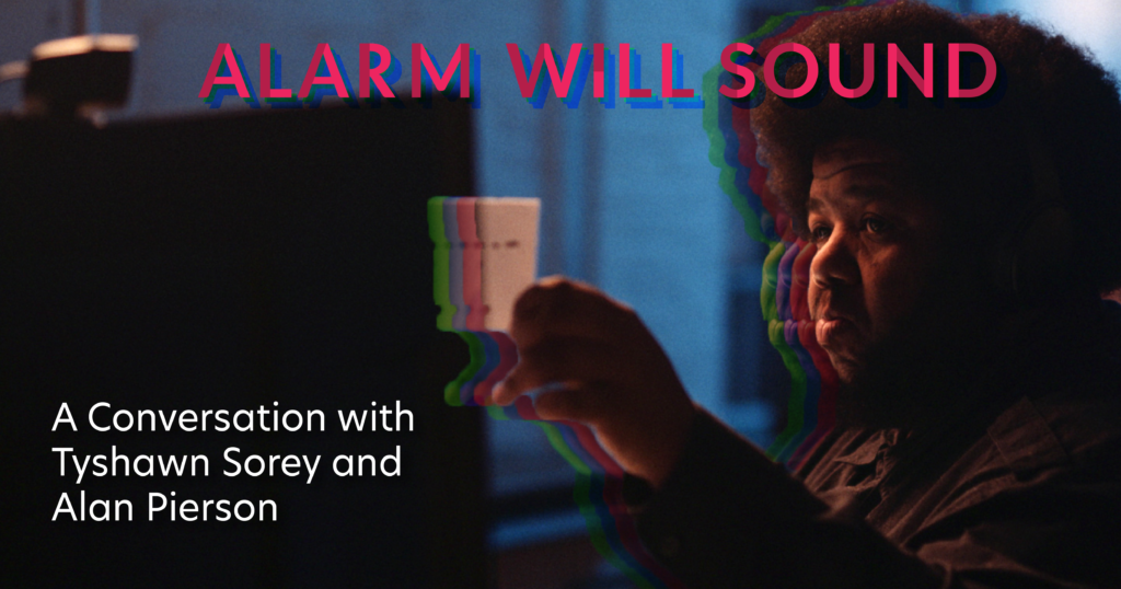 Alarm Will Sound presents A Conversation with Tyshawn Sorey and Alan Pierson